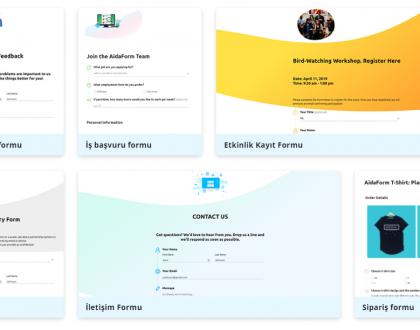 10 Saniyede Profesyonel Wordpress Formu Oluşturun